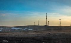 Fallout (cristiansamoilescu) Tags: nikon d7200 sigma 1750mm semenic mountain top landscape color texture antennas fallout end world apocaliptic lonesome road snow hills romania