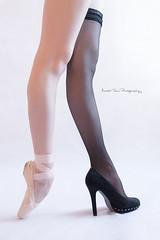 The duality... (Martin Tůma) Tags: balet ballet girl ballerina duality women dance
