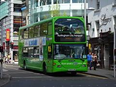 Nottingham City 735 S Sherwood Street (Guy Arab UF) Tags: nottingham city transport 735 yn04ujw scania n94ud east lancs omnidekka bus south sherwood street buses
