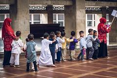 In Line (Trent's Pics) Tags: istiqlal mosque boys devout indonesia islam jakarta koran muslim prayer quran teachers