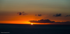 Los Gigantes (norm.edwards) Tags: sunset orange yellow sun lovely warm romantic clouds graduate ombre