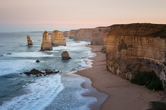 That moment (Maruša Žerjal) Tags: australia 12apostles thegreatoceanroad victoria nature sunrise ocean shore coast pillars rocks