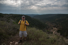 Me - Lost Maples State Natural Area - Bandera County - Texas - 13 November 2016 (goatlockerguns) Tags: hill country view lost maples state natural area bandera county texas usa unitedstatesofamerica south southern southwest nature park hills hillcountry