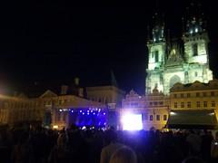 Prague (2011) (alexismarija) Tags: prague czechrepublic churchofourladybeforetýn night church