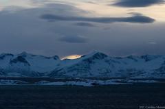 Tromso Trip (carolinameroni) Tags: norway troms tromsoe winter snow fjord nikond7000 nature sea north paesaggio fiordi frozen