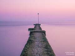 P4080048 (@MarkShaylerPhotography) Tags: seascape sea landscape photo photography sky longexposure long exposure pink purple