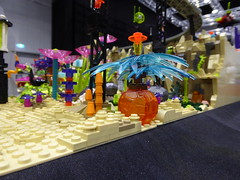 Alien Plants (Brett-Tron) Tags: blacktron monorail moc lego alien flower landscape spaceflowers spaceweeds spacelandscape alienworld spaceplants mtron battle