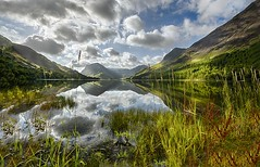 Buttermere early morning, The Lake District (davebyford01) Tags: buttermere uk cumbria england thelakedistrict water reflections clouds nationaltrust mountains
