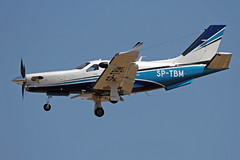 SP-TBM LMML 13-04-2017 (Burmarrad) Tags: airline private aircraft socata tbm930 registration sptbm cn 1128 lmml 13042017