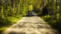 Porsche 997 Phase II (Stéphane Sélo) Tags: france pentax pentaxk3ii porsche997phaseii printemps ain automobile car filé nature porsche sport voiture