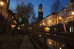 Utrecht at Blue Hour (Jorgepevet) Tags: bluehour horaazul utrecht netherlands longexposure canon550d