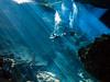Cenote Cavern Diving (altsaint) Tags: 714mm chacmool gf1 mexico panasonic cavern caverndiving cenote scuba underwater