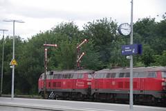 IMGP9218 (Alvier) Tags: deutschland norddeutschland nordfriesland niebüll neg db bahnhof eisenbahn dampflok eisenbahnsignal diesellok