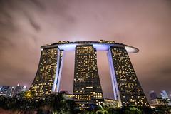 The Ship (Lemuel Montejo) Tags: city architecture hotel building night longexposure sky lights singapore singapura sg