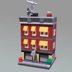 Mini Modular Joe's Garage (O0ger) Tags: mini modular minimodulars lego moc garage
