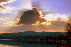 tramonto (oscar.martini_51) Tags: lago bolsena natura spiaggia tramonti barche