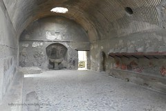 008 Central Thermae (Baths), Mens, Apodyterium, Herculaneum (3) (tobeytravels) Tags: herculaneum centralthemae baths