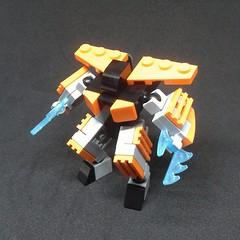 Night Stinger (Vitor O S Faria) Tags: mfz mf0 mobileframe mobileframezero lego mech mecha