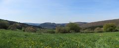 IMG_4052_4053b (Bike and hiker) Tags: ourthe aisne printemps lente