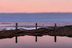 Ivor Rowe - Sunset (danieloshea_) Tags: sunset photography beach seascape canon sydney coogee rockpool