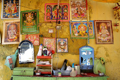 The Hindu Legend of Sweeny Todd (Inspired by MAS) Tags: barber stall hindu gods yellow