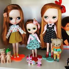 Dolly shelf sunday with a few redheads