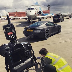 Photo of Some days are more crazy and fun than others. #photography #film #360 #privatejet #astinmartin @signaturefbo @athinplace @enterprise_inspires