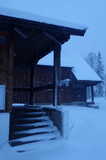 April snow in Oslo