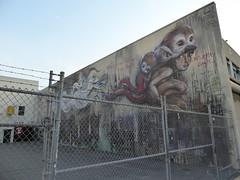 Herakut graffiti, San Francisco (duncan) Tags: graffiti sanfrancisco streetart herakut