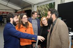 Nacho Larraz, Mónica Oltra, Lola Carrasco i Manuel Garrido  29/04/17
