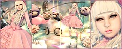 LittleBoPeepAndHerCountingSheepCollage (shirley Uborstein) Tags: pink pastels dreamy dream sheep fluffy kawaii cute pretty girly female curlyhair whitehair lolita dress fancy inworld sl secondlife decoration photography art fashion blog events halfdeer ayashi foxcity glamaffair merlific thedarkstylefair thegachagardens thesecrethideout unkindness violentseduction theforge {s0ng}