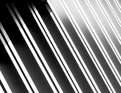138/365 (bgottsab) Tags: shadow blackandwhite sunlight metal line diagonal siding