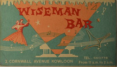 Wiseman Bar (m20wc51) Tags: bar hongkong card kowloon wanchai