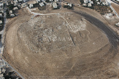 Tell el-Husn (APAAME) Tags: city archaeology town ancienthistory tell roman middleeast digitalcamera tall airphoto aerialphotography bronzeage flight2 flying2006 aerialarchaeology