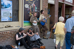 On Broadway (ramseybuckeye) Tags: street musicians nashville tennessee buskers