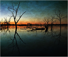 Twilight Over Wetlands (Jeff 05) Tags: