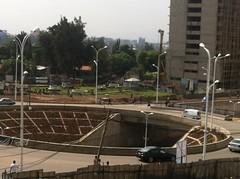 Roundabout at Meskel Flower (NewSkyliner) Tags: africa road an toll expressway horn ethiopia addis interchange bole adama ababa abeba addisadama bishortu