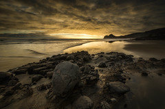 Into the light (Nick Twyford) Tags: sea newzealand seascape beach clouds blacksand nikon rocks waves wideangle auckland nz northisland westcoast bethellsbeach tehenga colourimage leefilters 1024mm d7000 lee09nd lee06gndhard