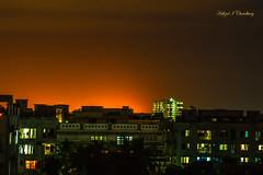 Dhaka City Skyline (Hafizul I Choudhury) Tags: city skyline night cityscape nightlight dhaka bangladesh