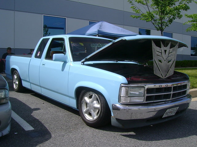 truck pickup dodge 1992 mopar custom dakota carshow slammed halethorpemd streetsurvivorsofmd