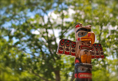 Totem Pole (A Great Capture) Tags: trees summer people art nature outdoors colorful native totem pole colourful ald ash2276 ashleyduffus wwwashleysphotoscom wwwkempscollectiblescom