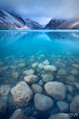 Lake Louise - Canada (Luke Austin) Tags: snow canada bluewater glacier alberta lakelouise turqouisewater