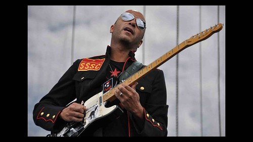 Tom Morello of Rage Against the Machine -Live in 2009