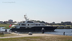 Super Yacht Sea Owl, IJmuiden, Netherlands - 2023