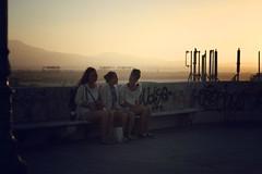 (Maurine-Toussaint) Tags: city girls summer twilight italia sardinia cagliari pula gloam