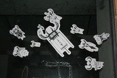 attim!!!! (Danny Jorket) Tags: italy sticker italia flyfishing slap mosca sciame slaptag mosche streetfly streetfishing streetartitaly dannyjorket zebfarm idramianimabili idrami sgombrotonnoelampuga httpdannyjorketit httpvimeocom70022614