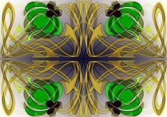 Floral Art Nouveau (Joe Vance aka oliver.odd - running in Safe Mode) Tags: abstract colour design artnouveau ideas stickybeak hypotheticalawards kreativepeople