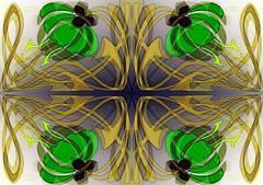 Floral Art Nouveau (Joe Vance aka oliver.odd - running in Safe Mode) Tags: abstract colour design artnouveau ideas stickybeak hypotheticalawards kreativepeople