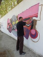 P9120704 (xbonie) Tags: muro real libertad graffiti la calle montana amor alien roots ciudad carlos paisaje sae spray graff ruidera mancha manzanares respeto homenaje carmona oner manza pichon pizarroso saeone pichoner