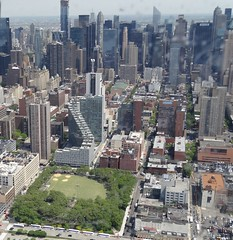 New York City with park.